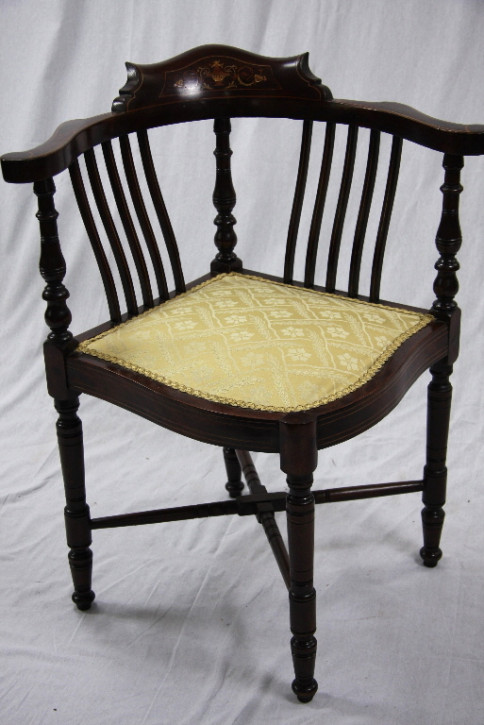 Corner Chair - Edwardian