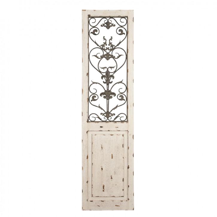 Großes Verkleidungs-Paneel aus Holz 46*3*194cm