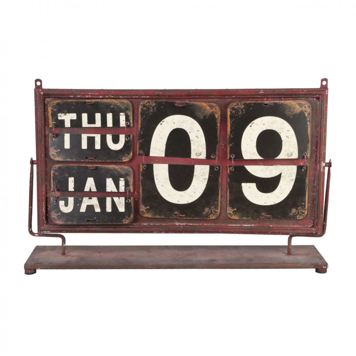 Kalender Braun ca. 68 x 13 x 43 cm