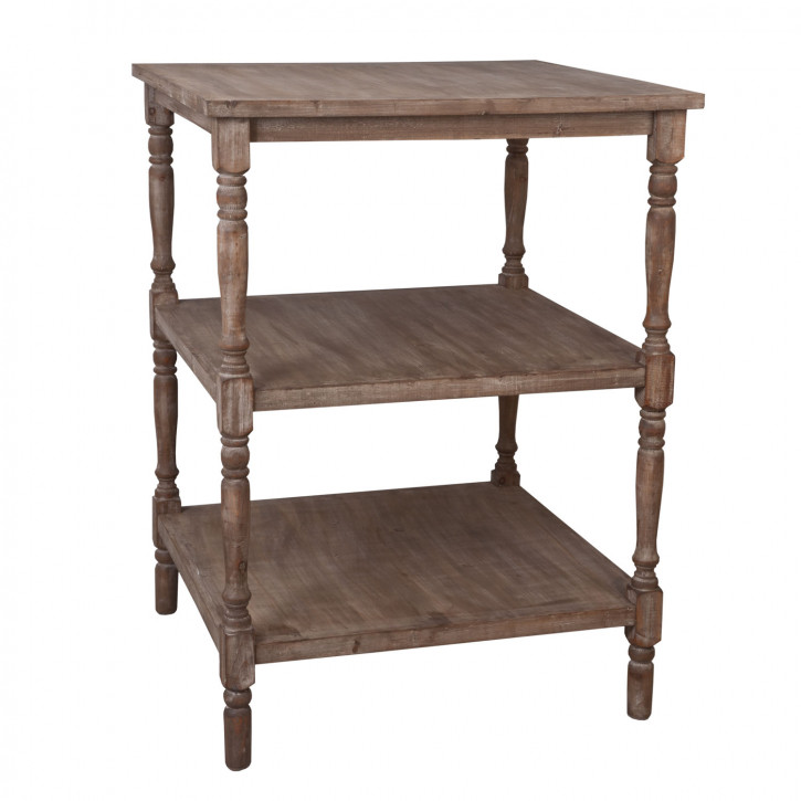 Holztisch braun ca. 80 x 80 x 102 cm