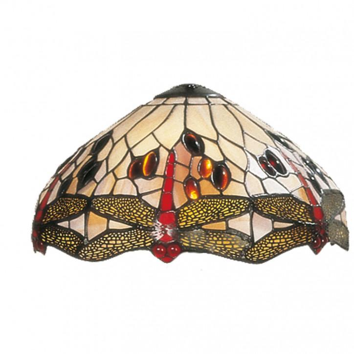 Lampenschirm Tiffany-Stil ca. Ø 30cm Libellen