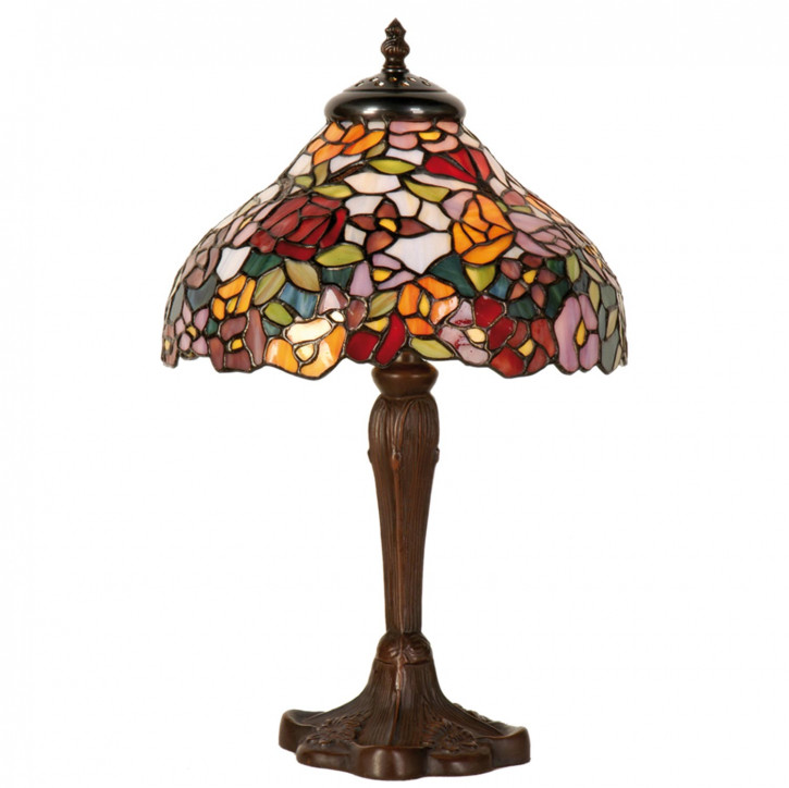 Tischlampe im Tiffany Stil 26x40cm
