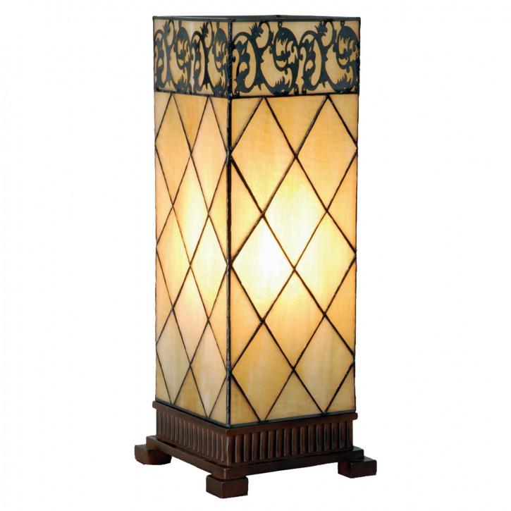 Tischlampe Tiffany 18x18x45 cm E27/max 1x40W
