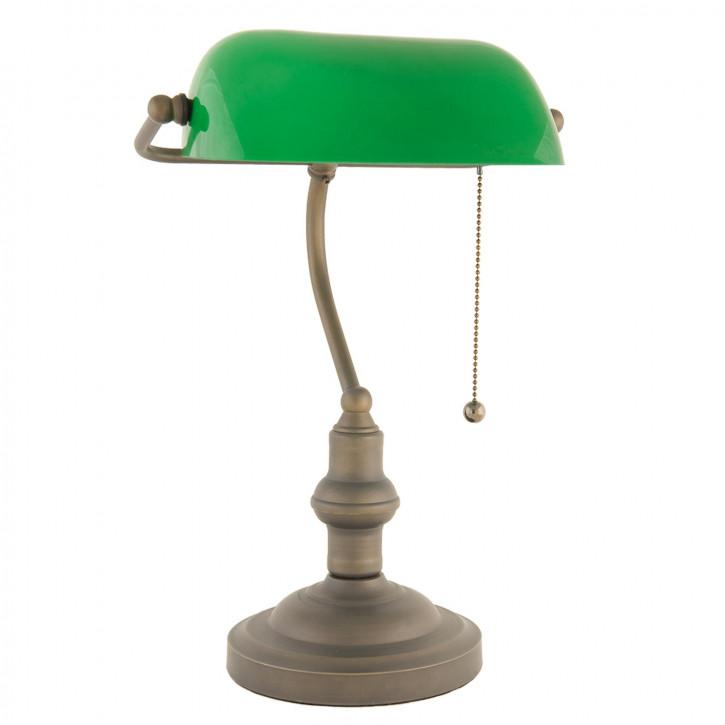 Schreibtischlampe Grün Ø 27x40 cm E27/max 1x60W