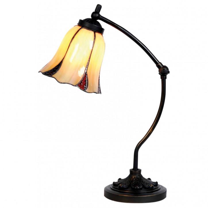 Tischlampe im Tiffany Stil 15x46cm