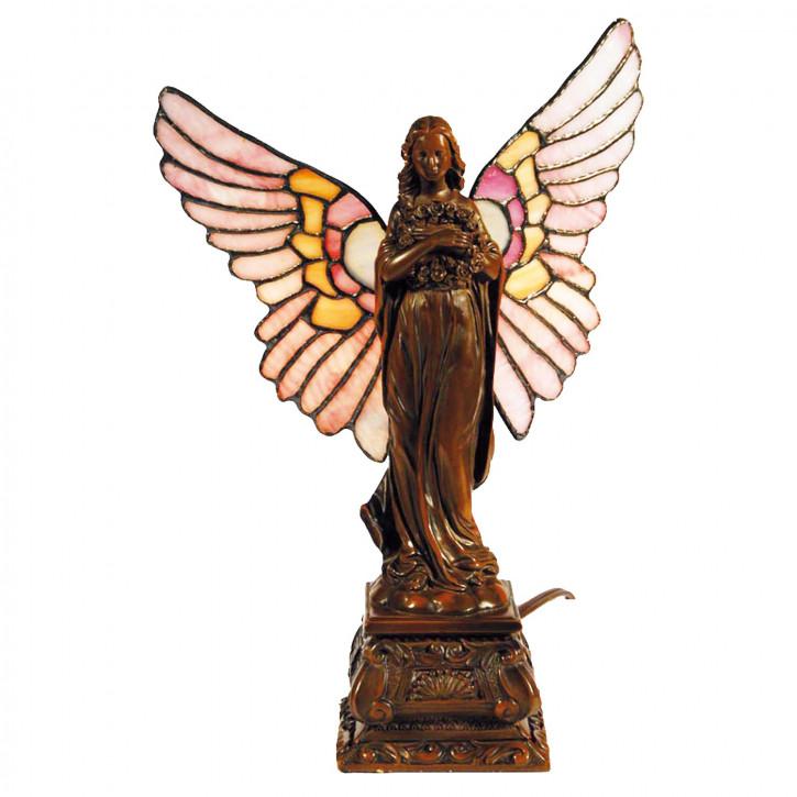 Dekolampe Tiffany-Stil Angel 32x20cm