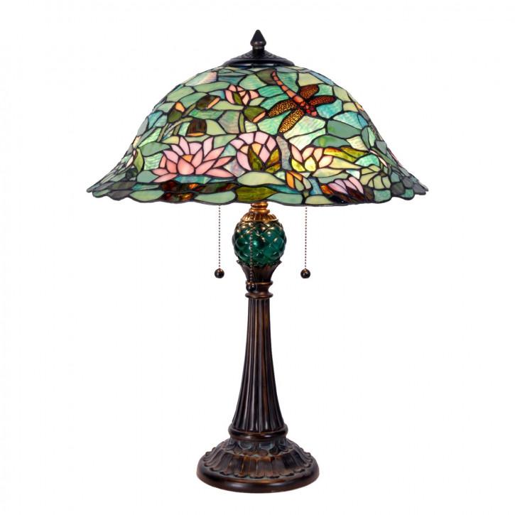 Tischlampe im Tiffany Stil 47x60cm