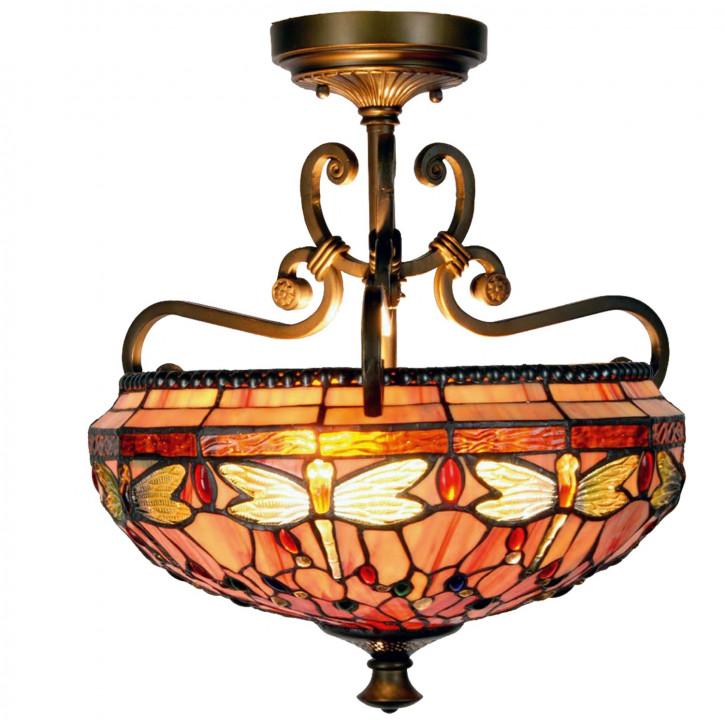 Deckenlampe im Tiffany-Stil 42x48cm