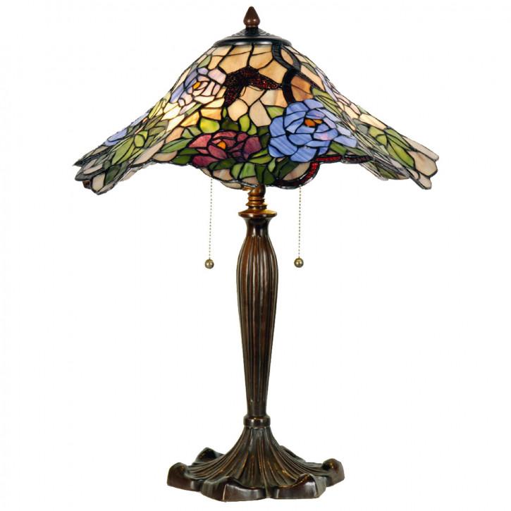 Tischlampe Tiffany Ø 46x60 cm E27/max 2x60W