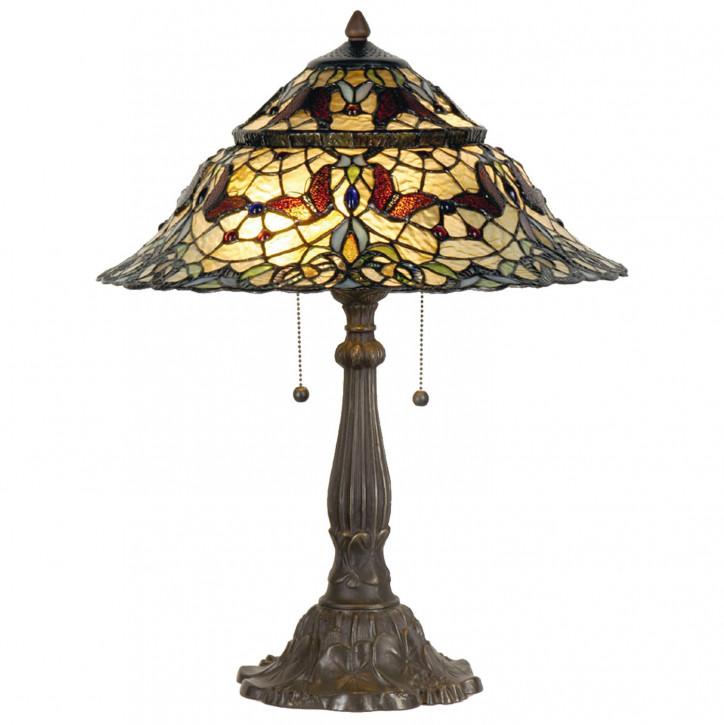 Tischlampe im Tiffany Stil 46x65cm