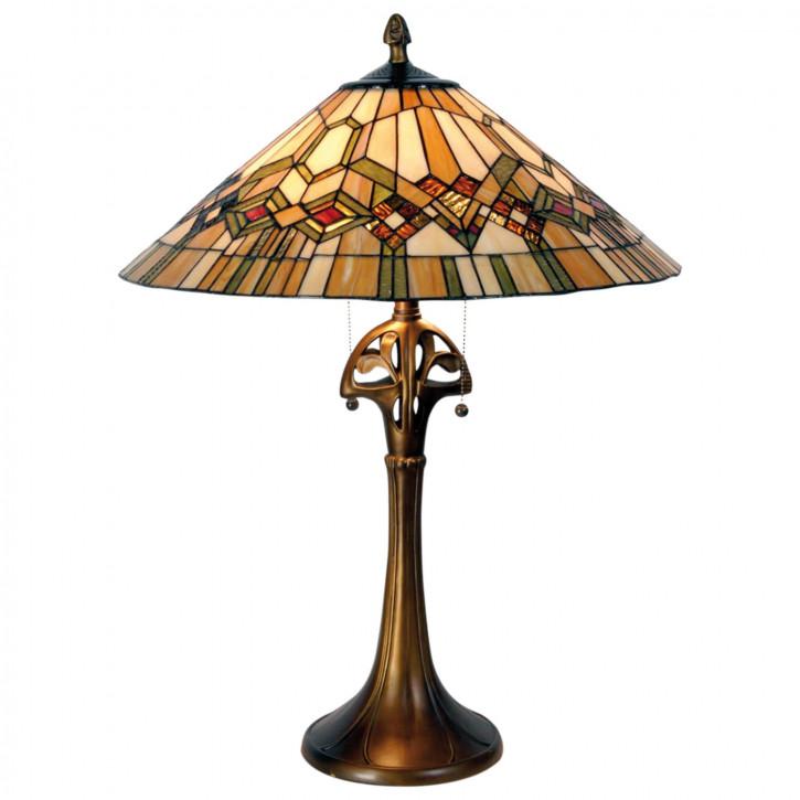 Tischlampe im Tiffany Stil 55x73cm