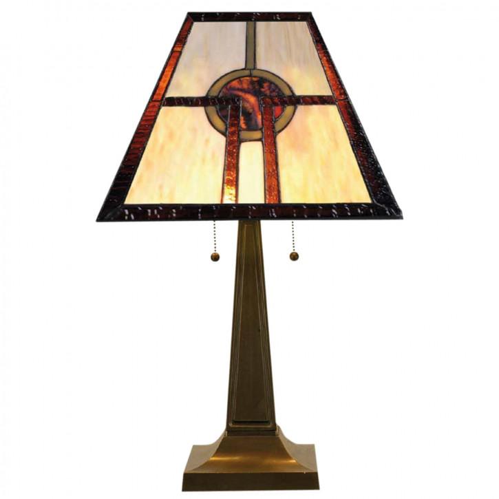 Tischlampe im Tiffany Stil 51x61cm