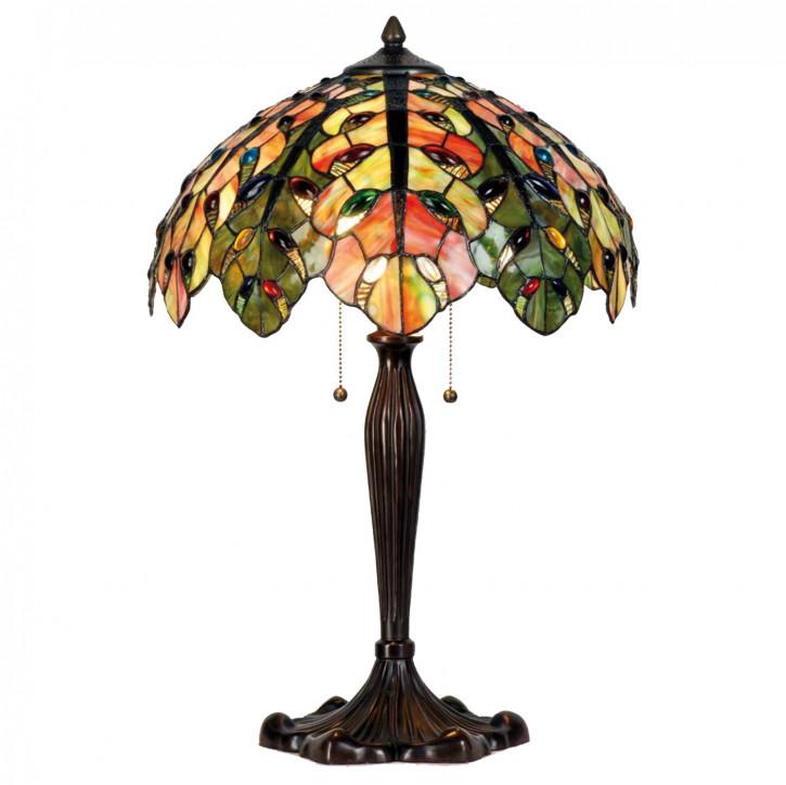 Tischlampe im Tiffany Stil 43x60cm
