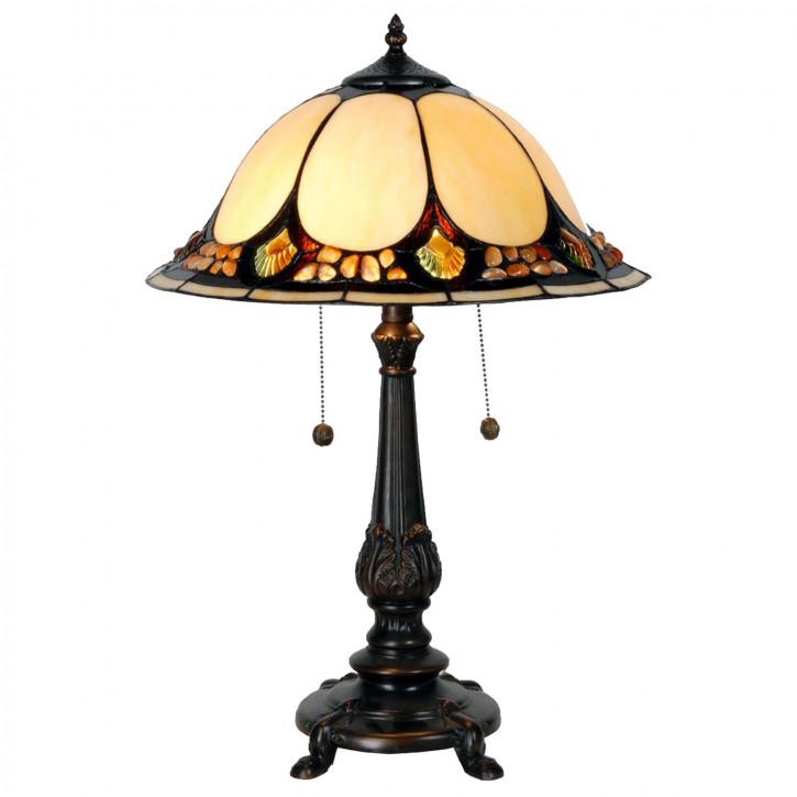 Tischlampe im Tiffany Stil 41x59cm