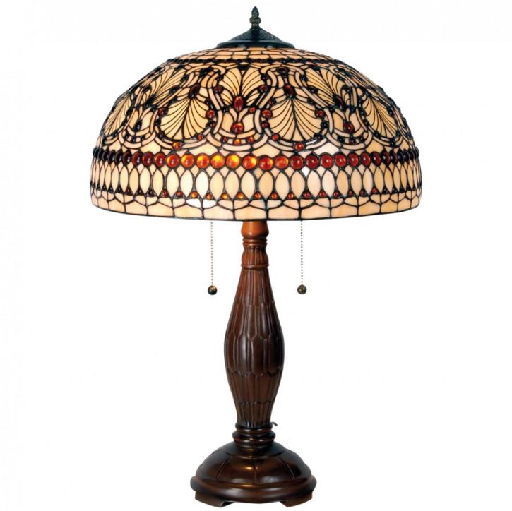 Tischlampe im Tiffany Stil 40x68cm