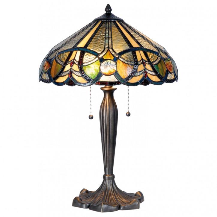 Tischlampe Tiffany Ø 41x61 cm E27/max 2x60W