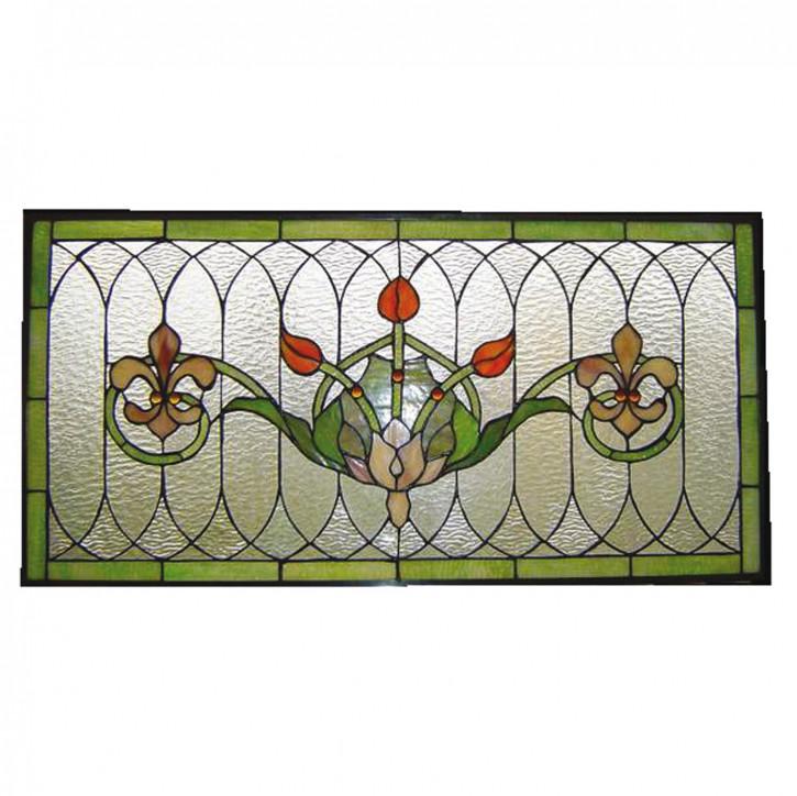 Tiffany-Fensterbild 82x41 cm