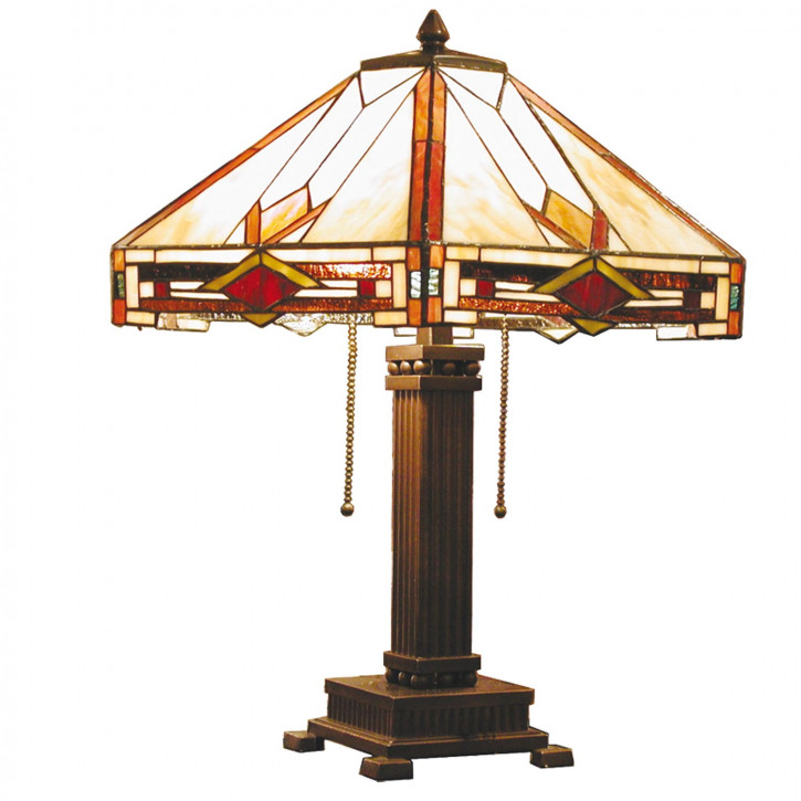 Tischlampe im Tiffany-Stil 53 x 48cm