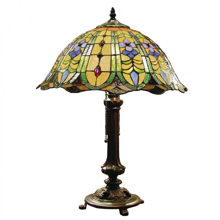 Tischlampe Tiffany Ø 40x53 cm E27/max 2x60W