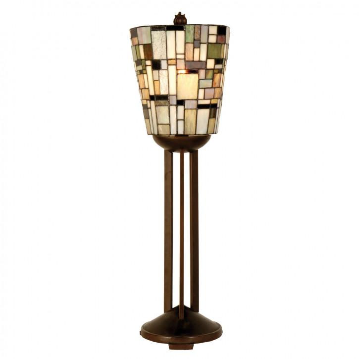 Tischlampe im Tiffany-Stil 23 x 76cm