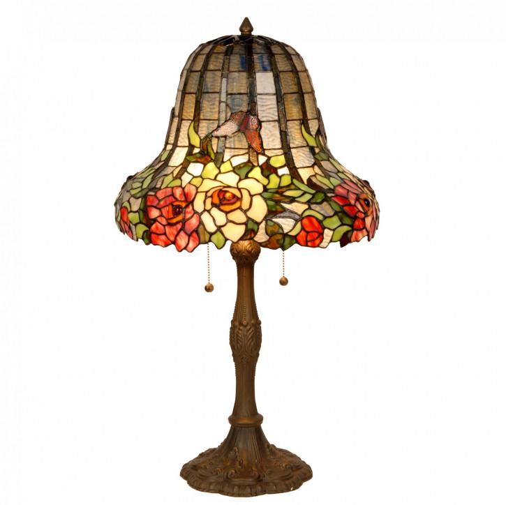 Tischlampe Tiffany-Stil ca. Ø 40 x 70 cm
