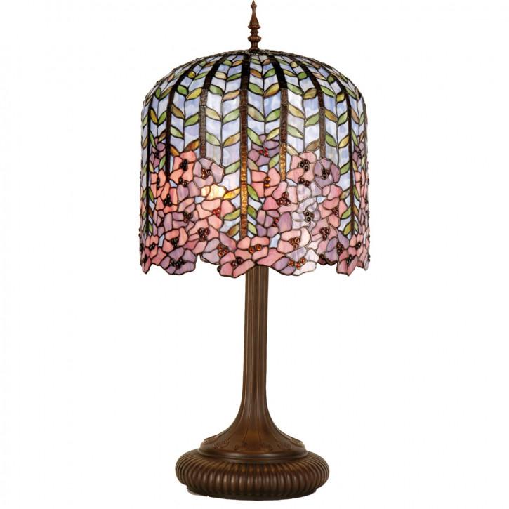 Tischlampe Tiffany-Stil ca. 84 x Ø 40 cm