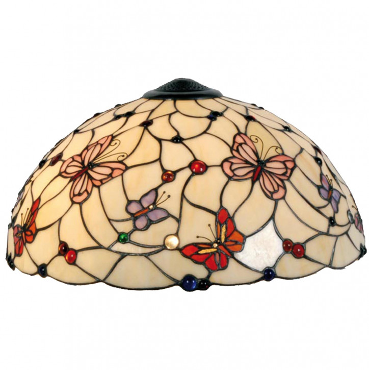 Lampenschirm Tiffany-Stil ca. 26 x Ø 50 cm