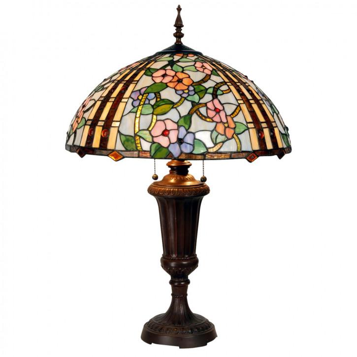 Tischlampe im Tiffany Stil 51x74cm