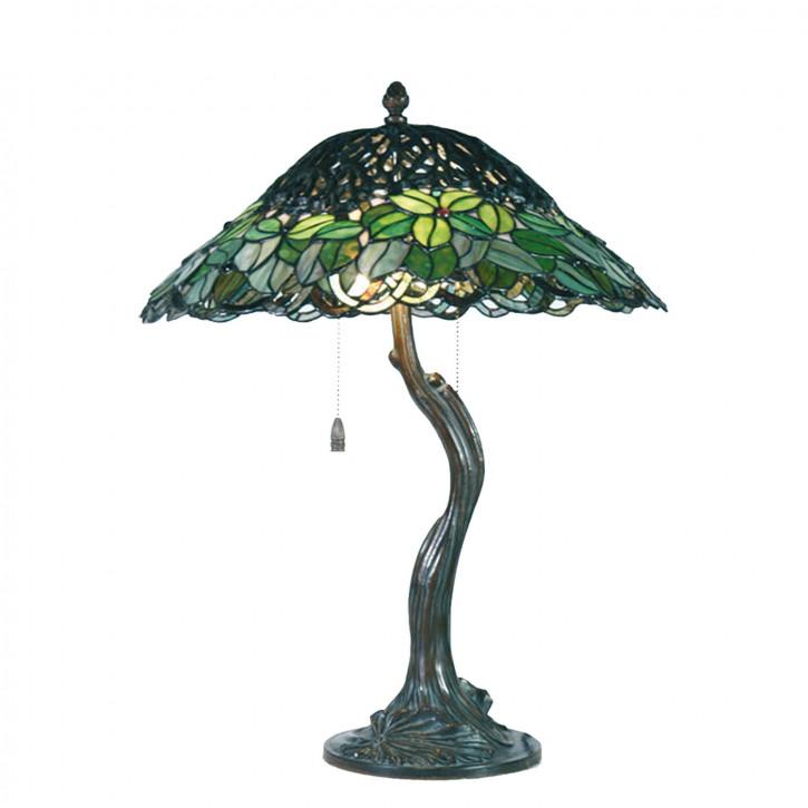 Tischlampe Tiffany Ø 47x58 cm E27/max 2x60W