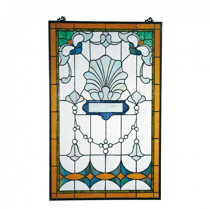 Fensterbild Tiffany ca. 81 x 51 cm