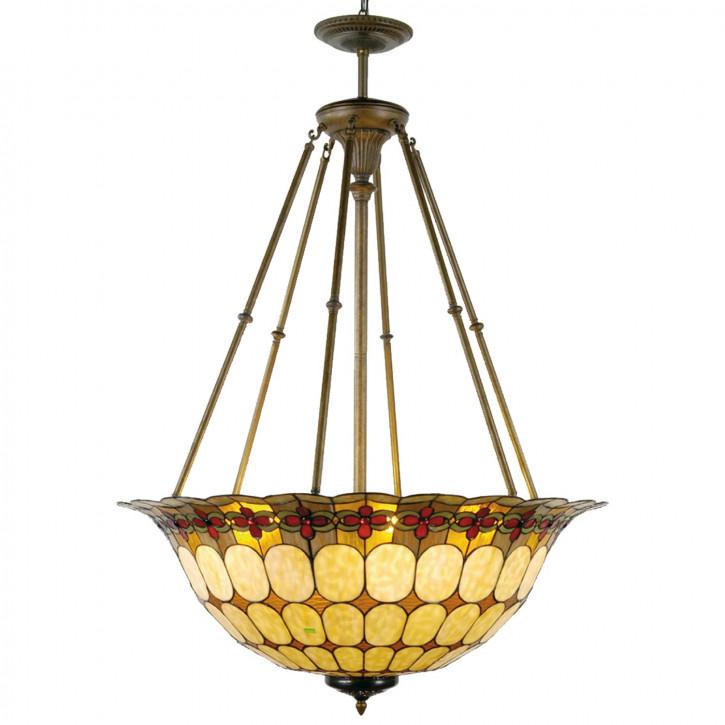 Hängelampe Lampe Tiffany ca. 128 x Ø 92 cm