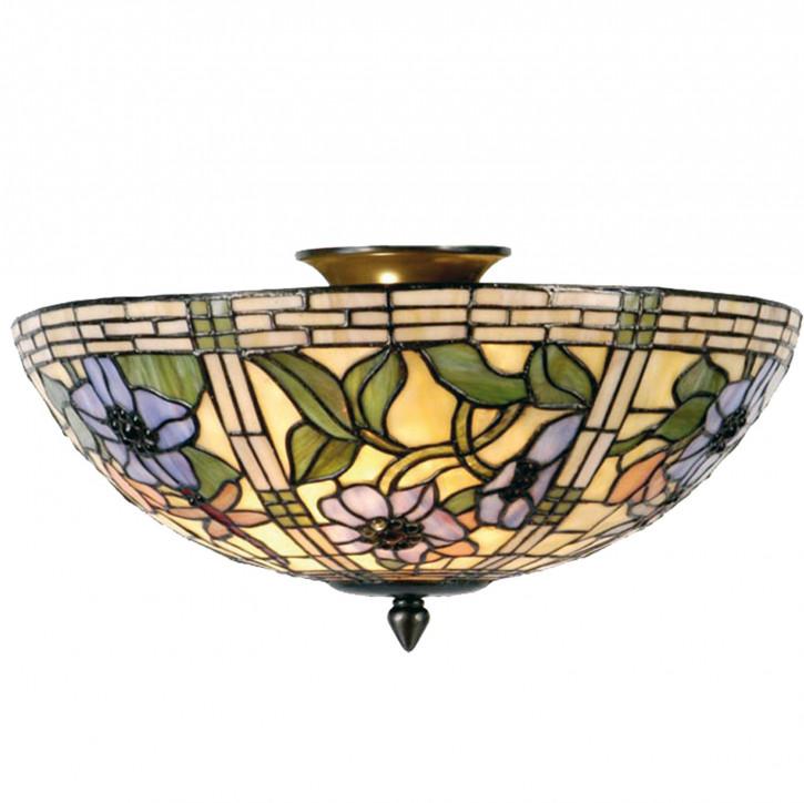 Deckenlampe im Tiffany-Stil 25x40cm