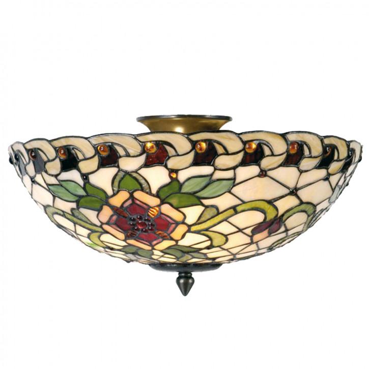 Deckenlampe Tiffany-Stil 25 x Ø 40 cm