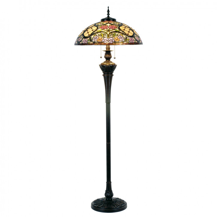 Tiffany Stehlampe Asia Garten