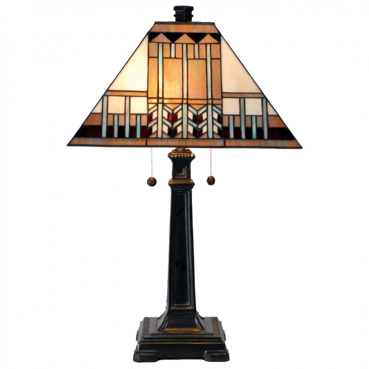 Tischlampe im Tiffany Stil 41x65cm