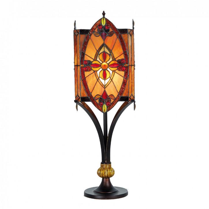 Tischlampe im Tiffany Stil 67 x Ø22 cm