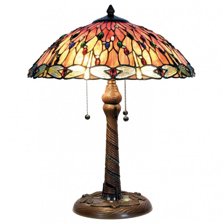 Tischlampe im Tiffany Stil 45x56cm