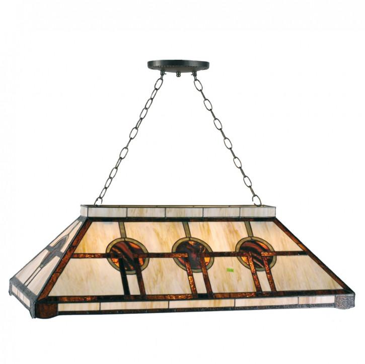 Billard-Lampe im Tiffany-Stil 92cm Asian Style