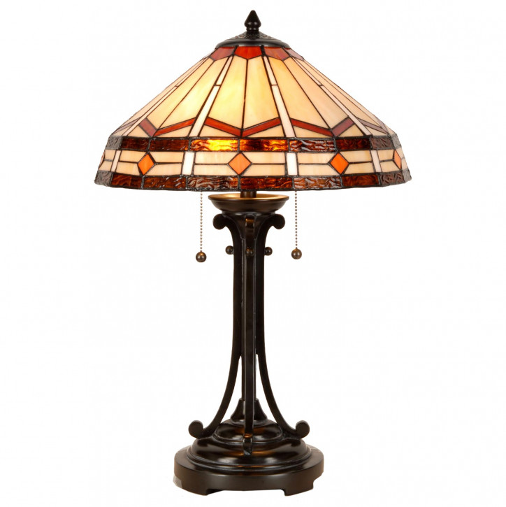 Tischlampe im Tiffany Stil 41x60cm