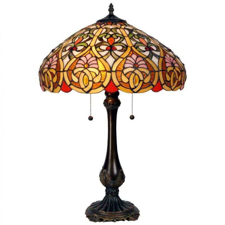Tischlampe im Tiffany Stil 43x63cm