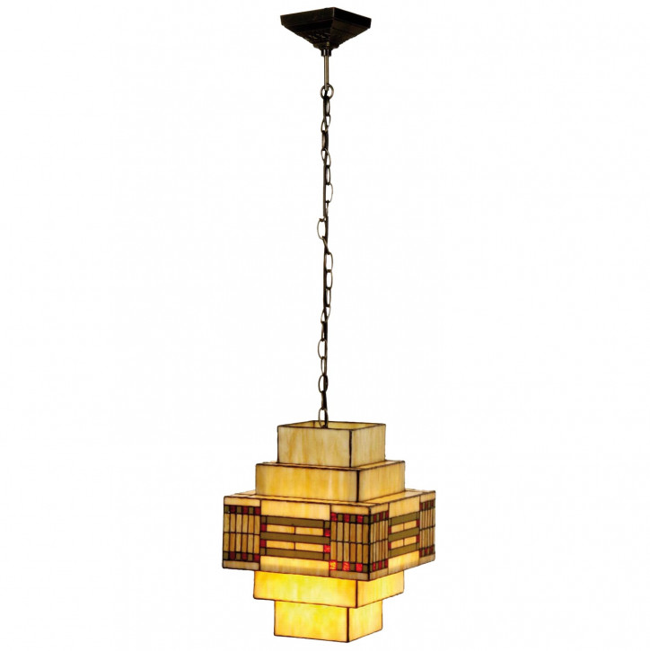Hängelampe Tiffany 30x30x144 cm»