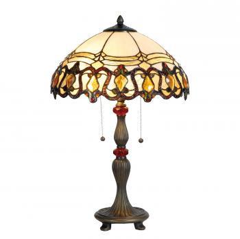 Tischlampe im Tiffany Stil 39x60cm