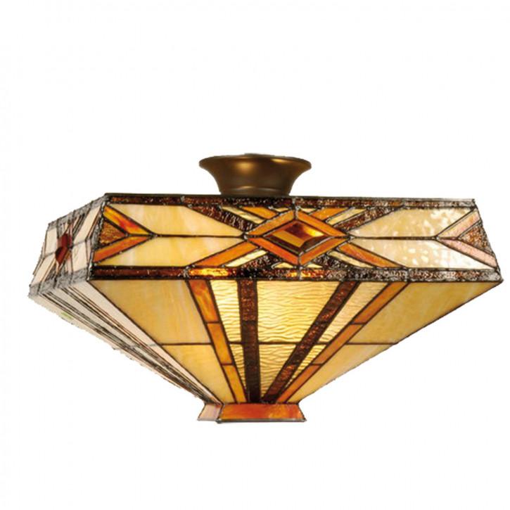 Deckenlampe im Tiffany-Stil 25x42cm