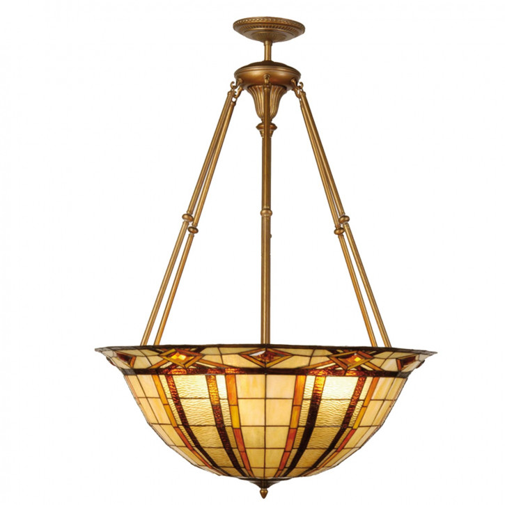 Hängelampe Lampe Tiffany ca. 126 x Ø 92 cm