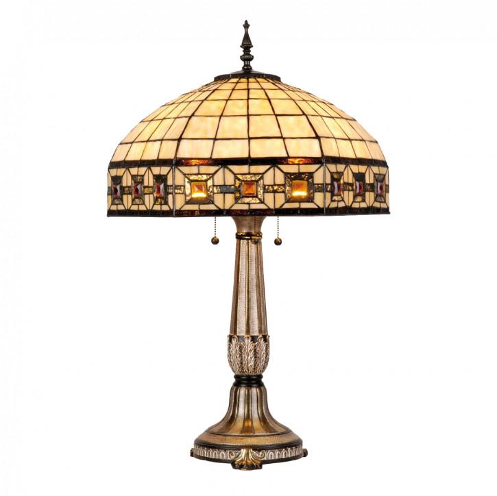Tischlampe im Tiffany Stil 51x79cm