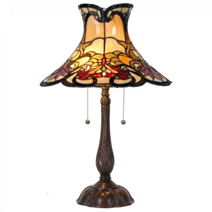 Tischlampe Tiffany Ø 51x66 cm E27/max 2x60W