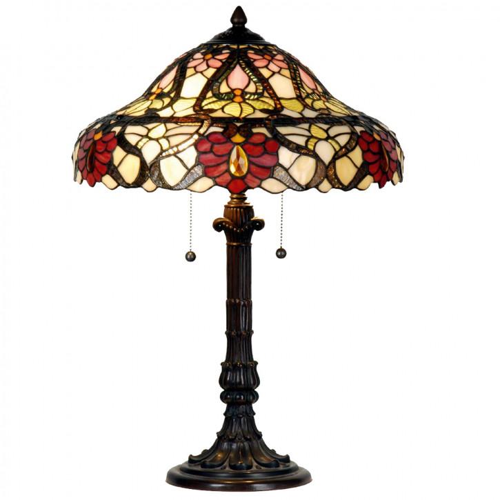 Tischlampe im Tiffany Stil 42x57cm
