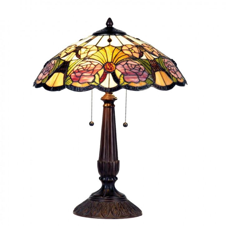 Tischlampe im Tiffany Stil 44x57cm
