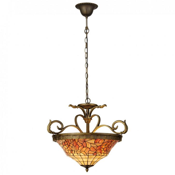 Pendelleuchte im Tiffany-Stil 56x170cm
