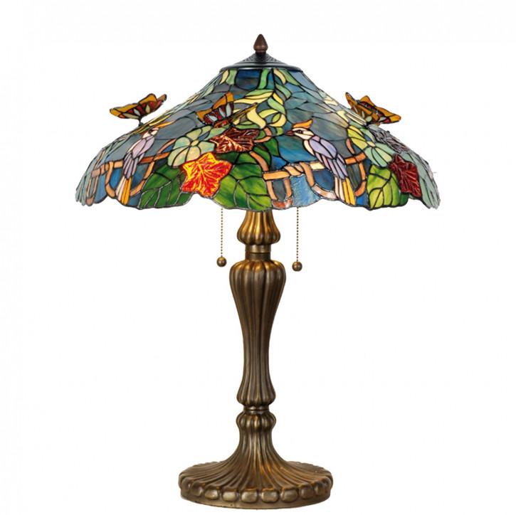 Tischlampe Tiffany Ø 52x65 cm E27/max 2x60W